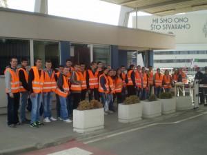 Посета Крагујевцу и ФИАТ-у